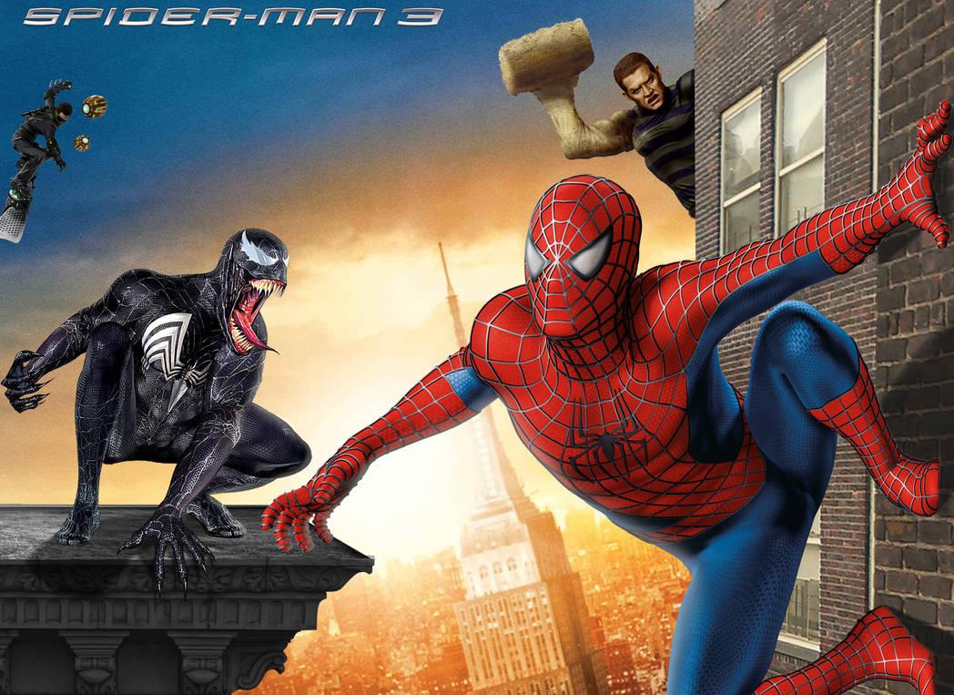 Spiderman 3 Action Wallpaper Lock Wallpapers