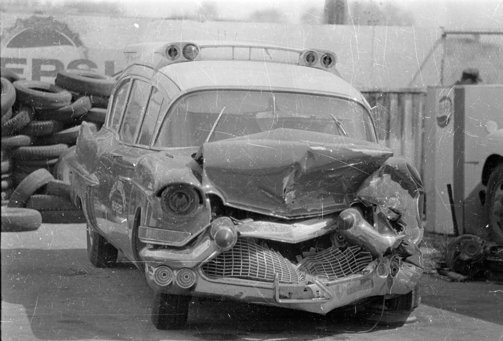 Buy Wrecked Car >> Wrecked Cadillac ambulance by SodaDew on DeviantArt