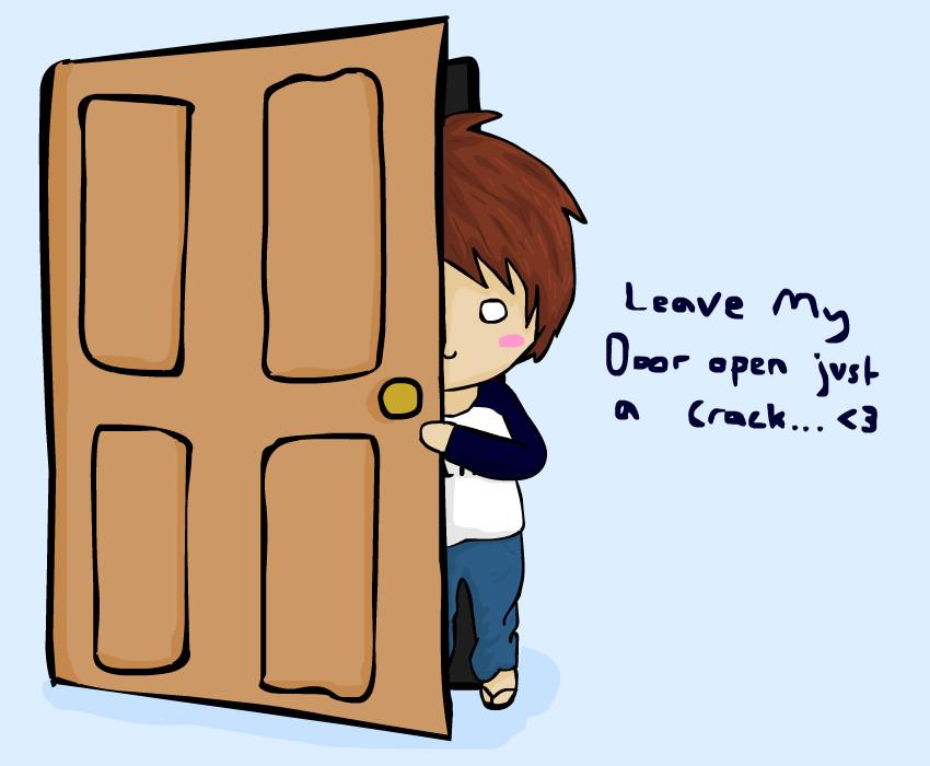 -no.1- leave my door open by KTechnicolour ...  sc 1 st  KTechnicolour - DeviantArt & no.1- leave my door open by KTechnicolour on DeviantArt