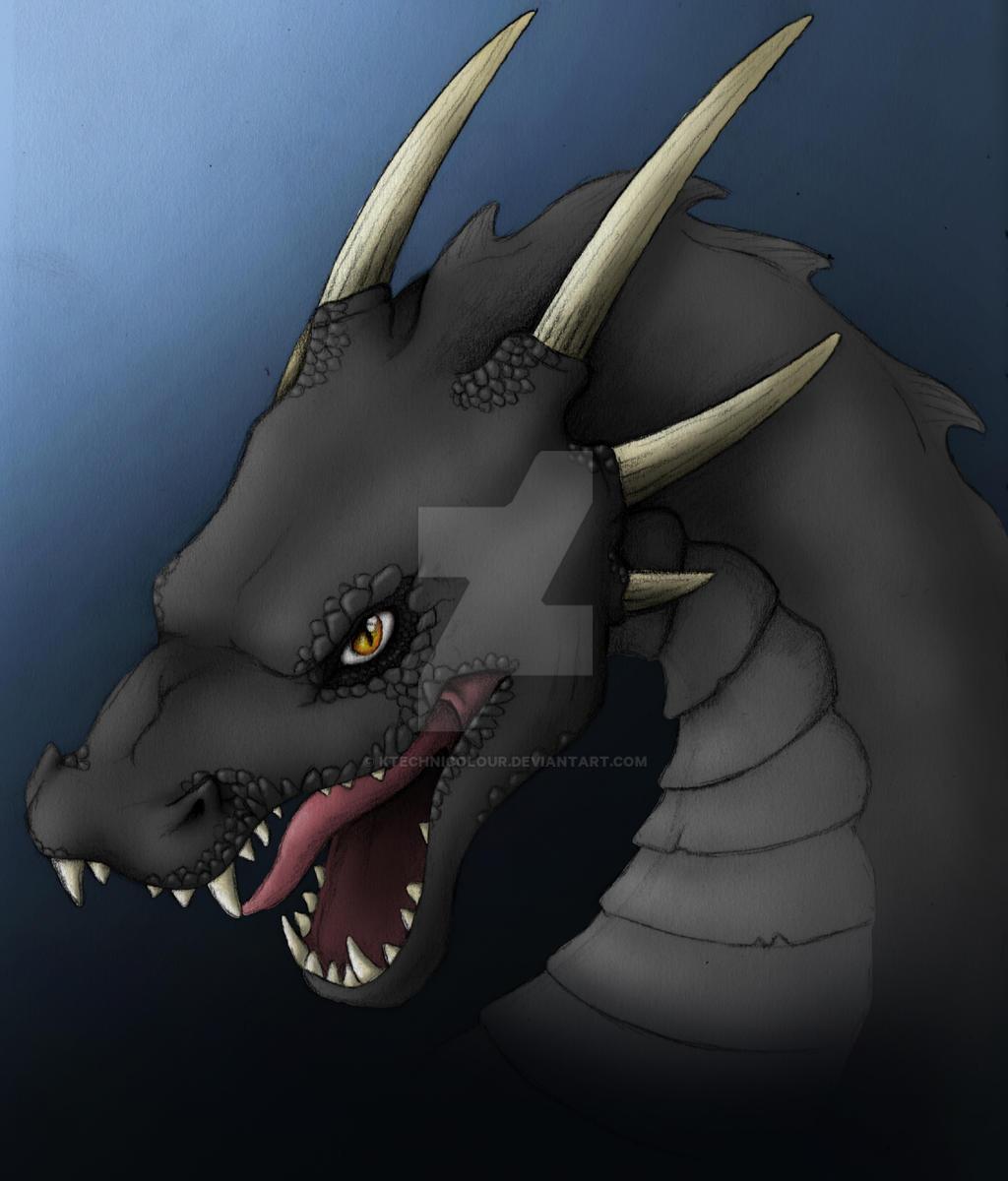 Dragon - black version by KTechnicolour