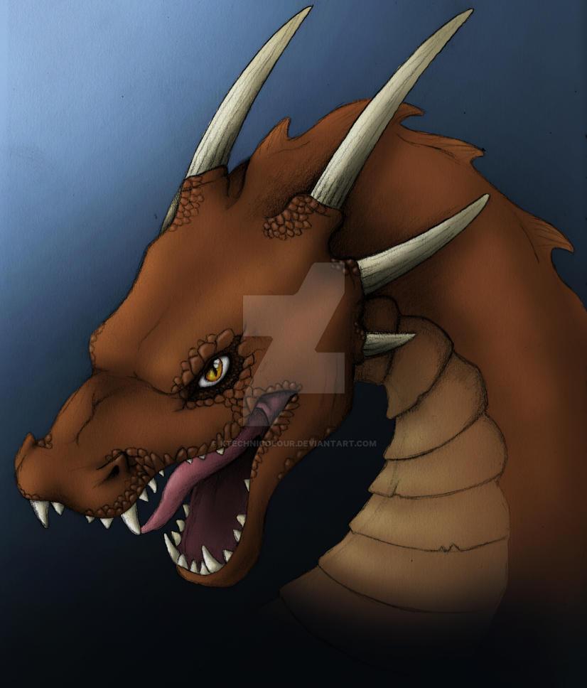 Dragon - original version by KTechnicolour
