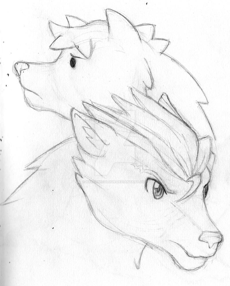 Layton Phoenix Werewolves by KTechnicolour