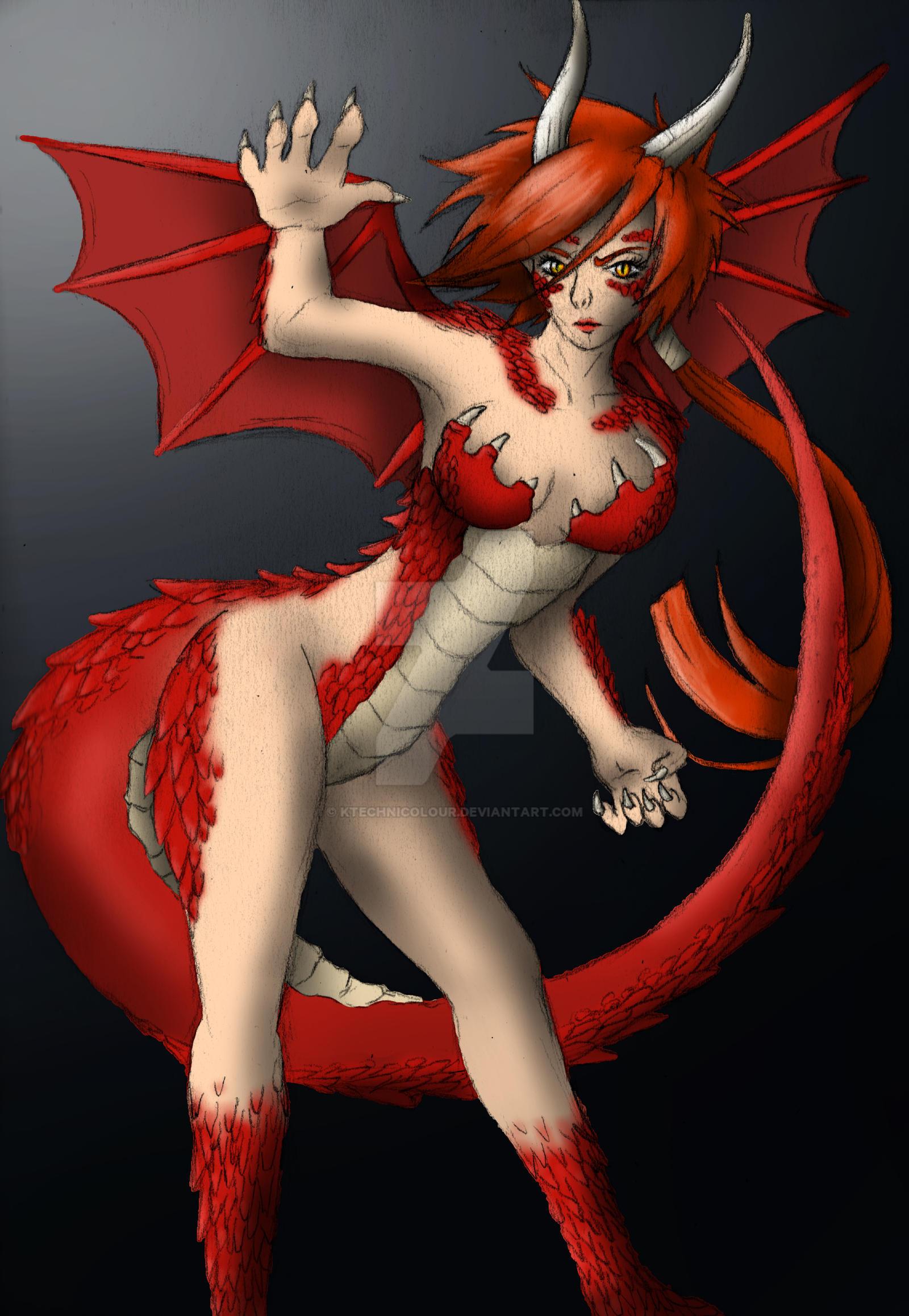 Dragon Girl by KTechnicolour