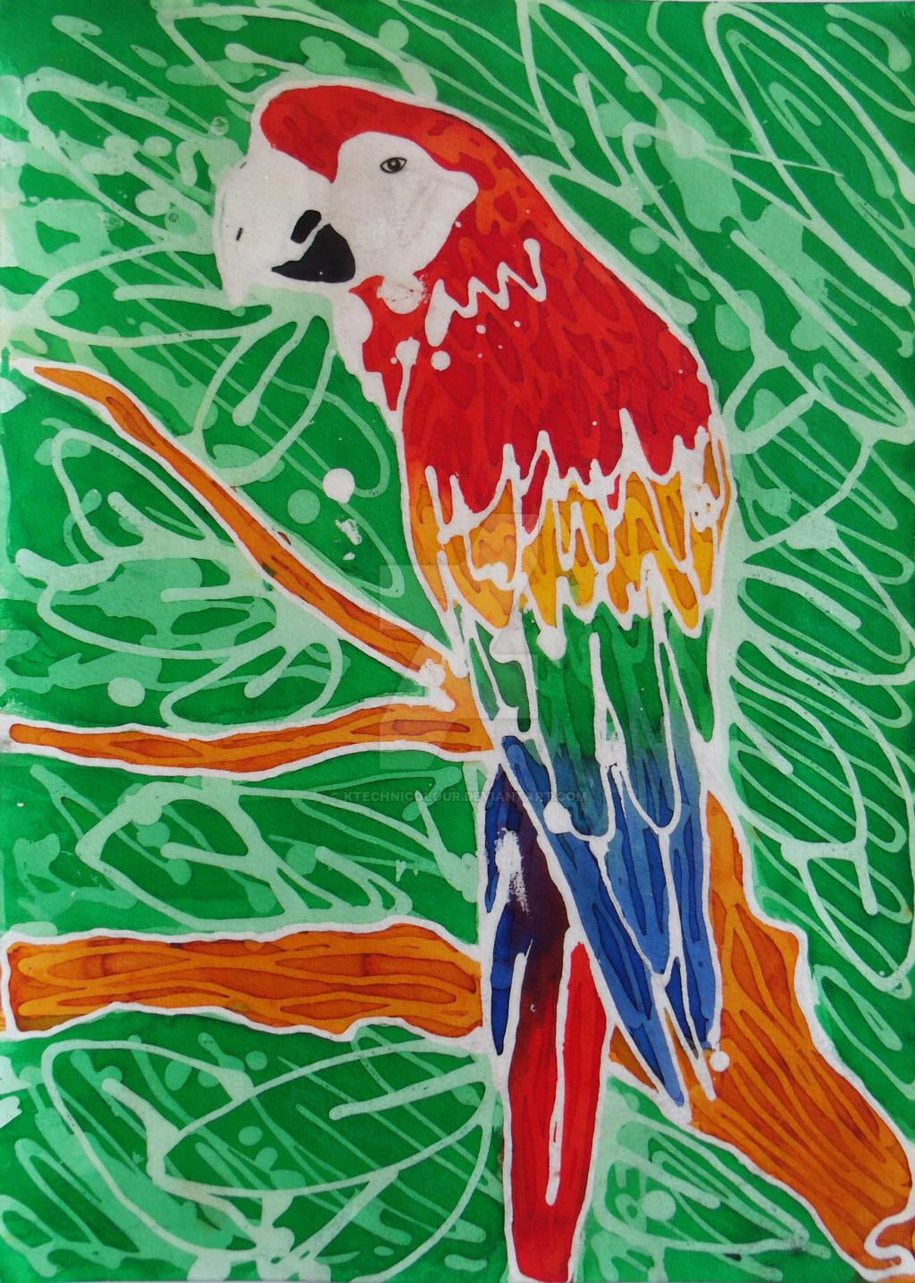 Parrot by KTechnicolour