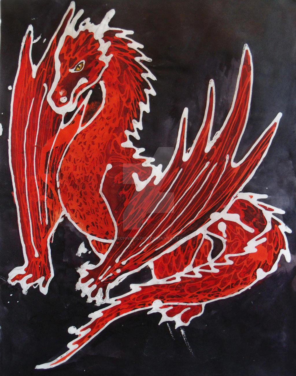Dragon Batik by KTechnicolour