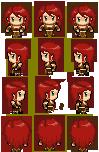 Character Set pixel practice by KTechnicolour