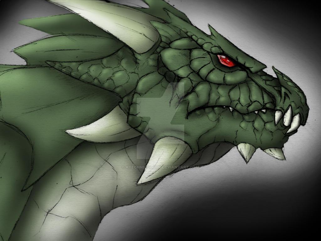 Dragon 4 by KTechnicolour