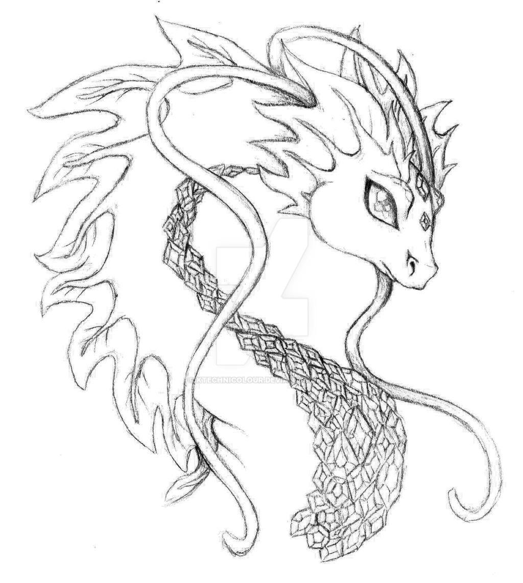 Jewel Dragon by KTechnicolour