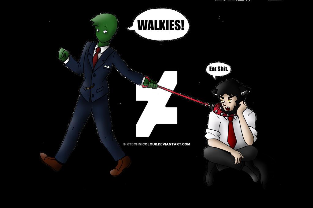 Walkies! by KTechnicolour