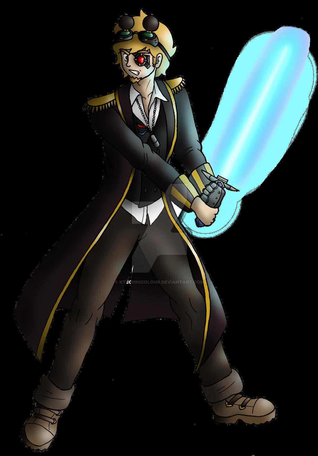 Captain Basil Longshorts by KTechnicolour