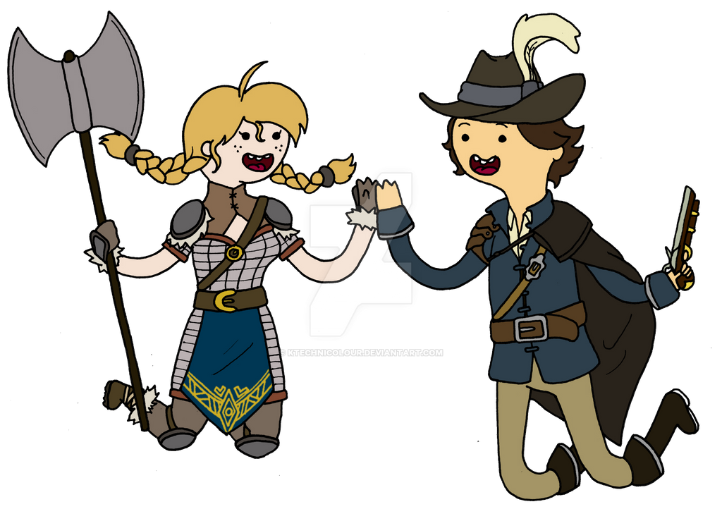 Adventure Time With Yngrid And Laurent by KTechnicolour