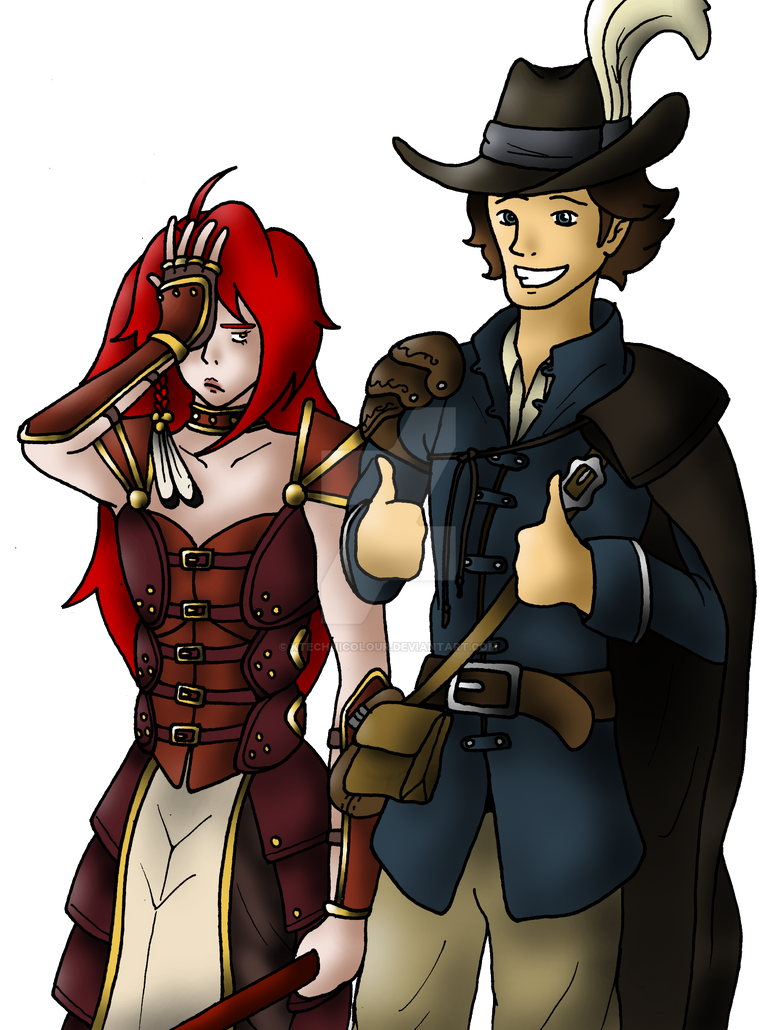 Vala And Laurent by KTechnicolour