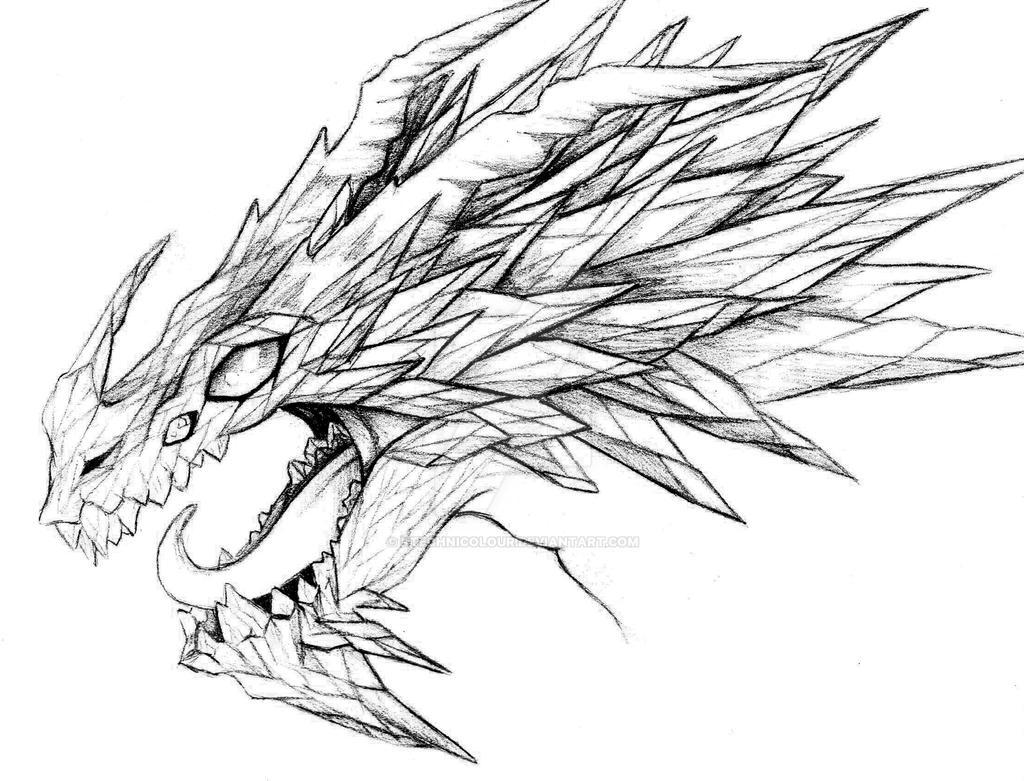 Crystal Shard Dragon by KTechnicolour