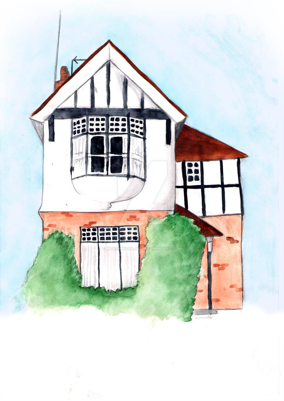 Lloyds park lodge house by KTechnicolour