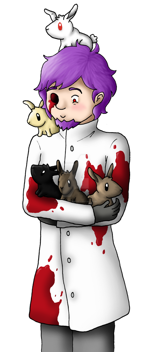 Grim And Bunnies - Realm Art by KTechnicolour
