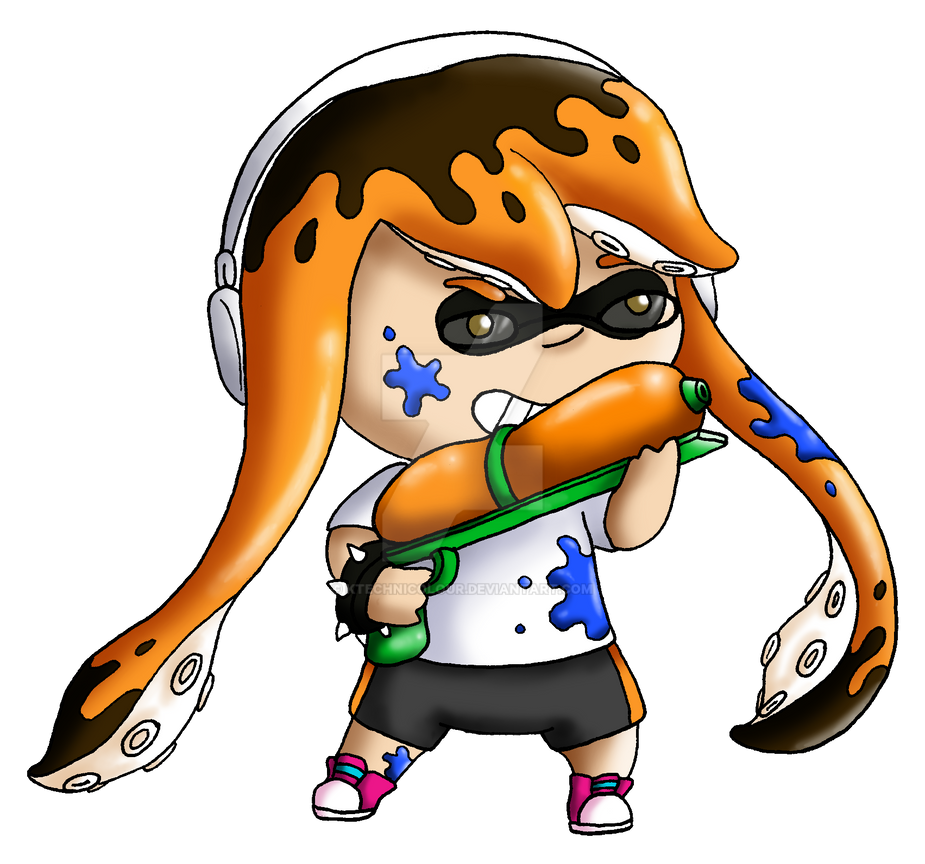 Console Command Inkling - midnight-devilwitch Req by KTechnicolour