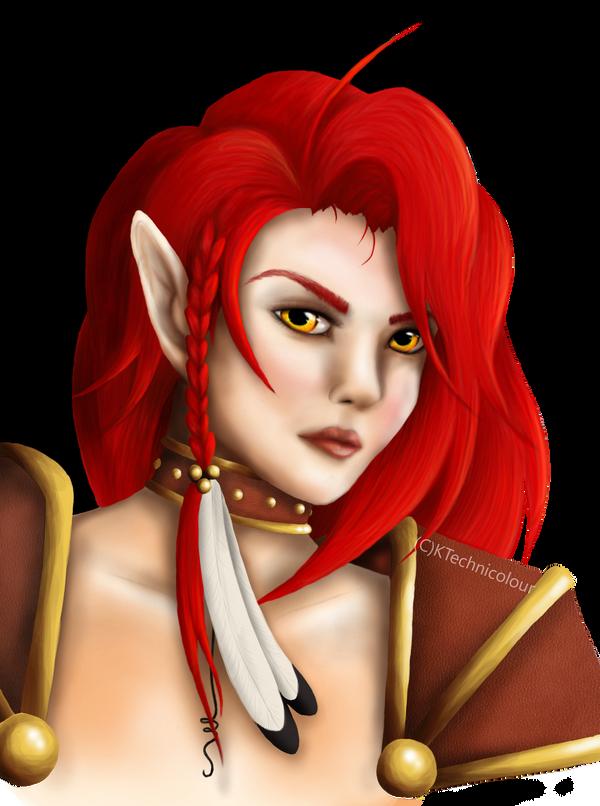 Vala Portrait by KTechnicolour
