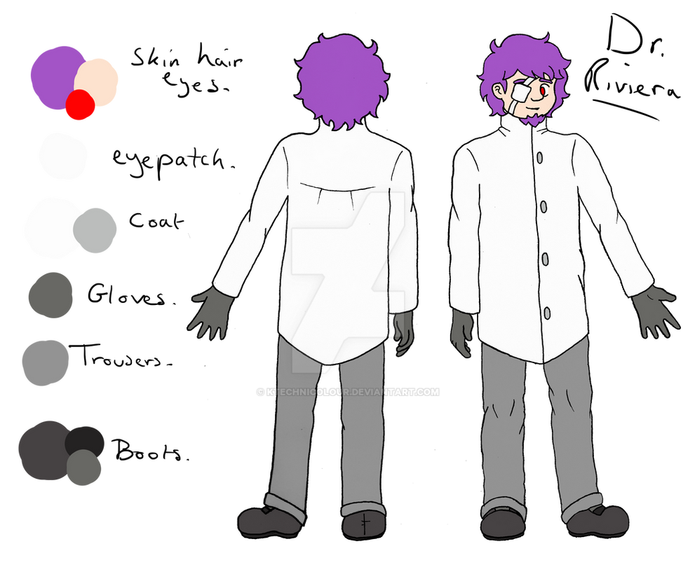Dr. Riviera Reference Sheet by KTechnicolour
