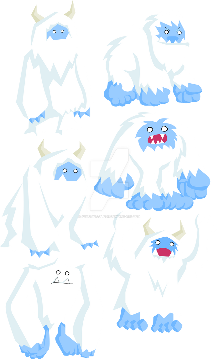 Yetis by KTechnicolour