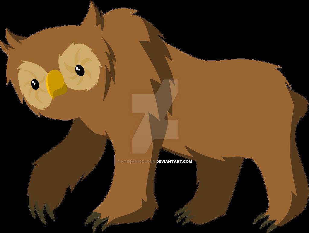 Owl Bear by KTechnicolour