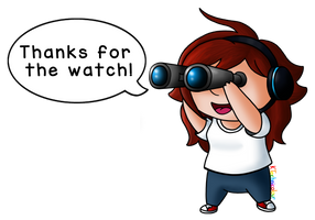 Thanks For The Watch! by KTechnicolour