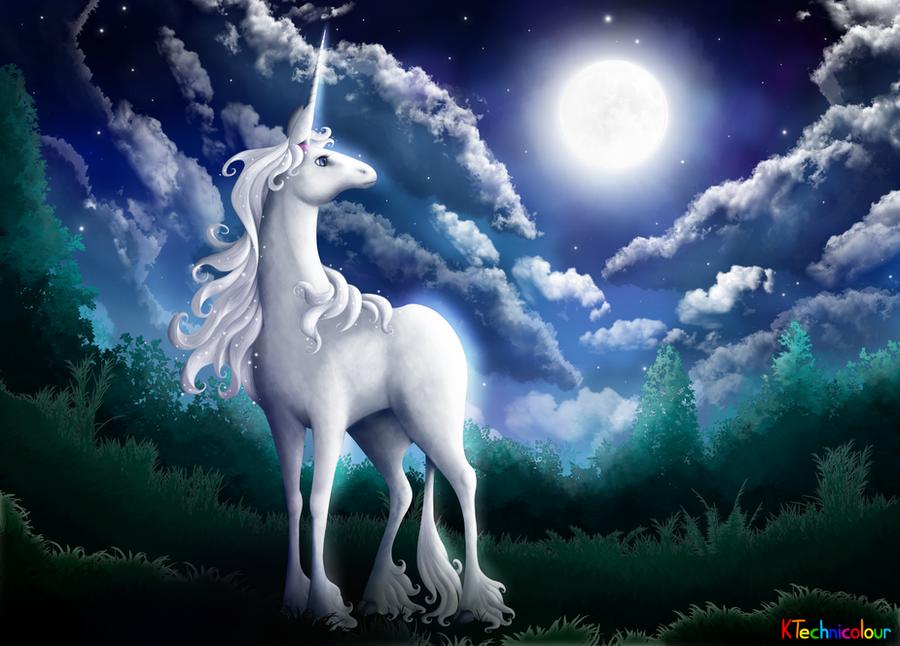 The Last Unicorn by KTechnicolour