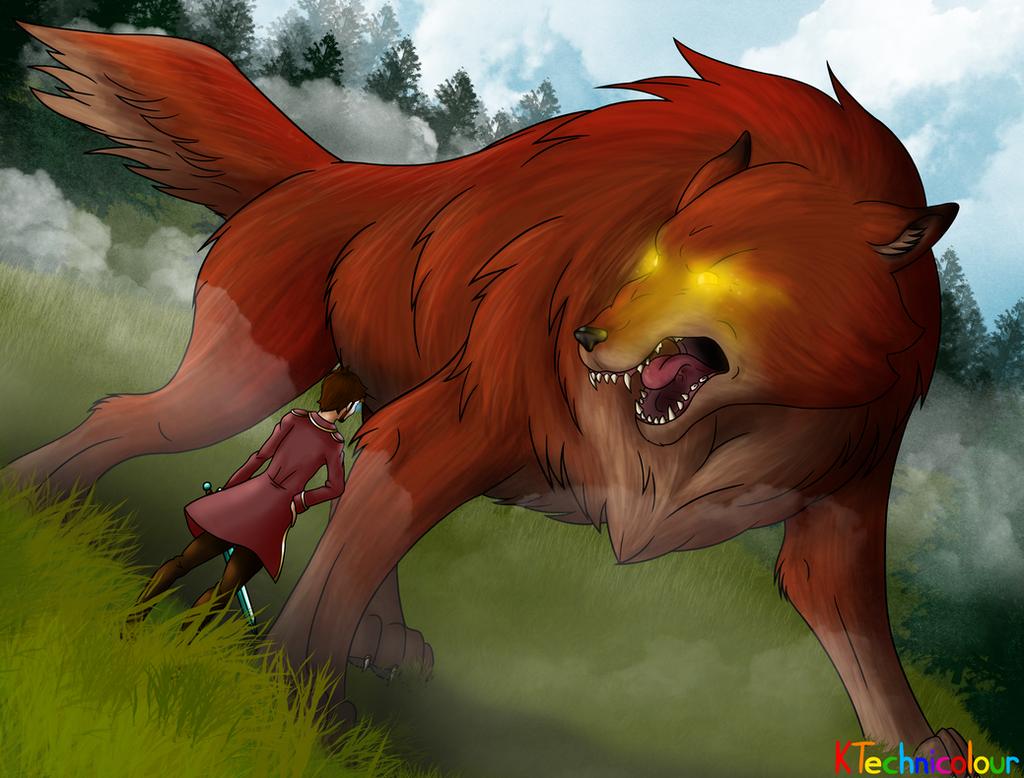 Demiwolf by KTechnicolour