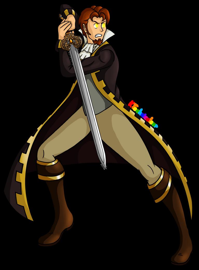 Ridge's Sword by KTechnicolour