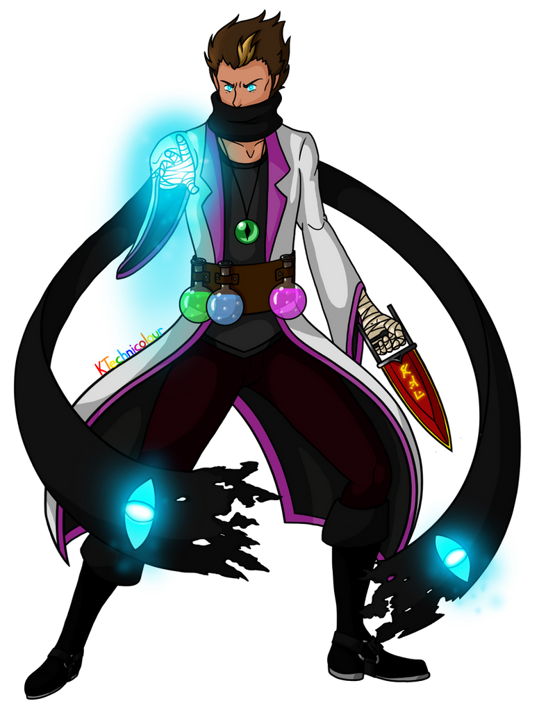 Enderborn Mage by KTechnicolour