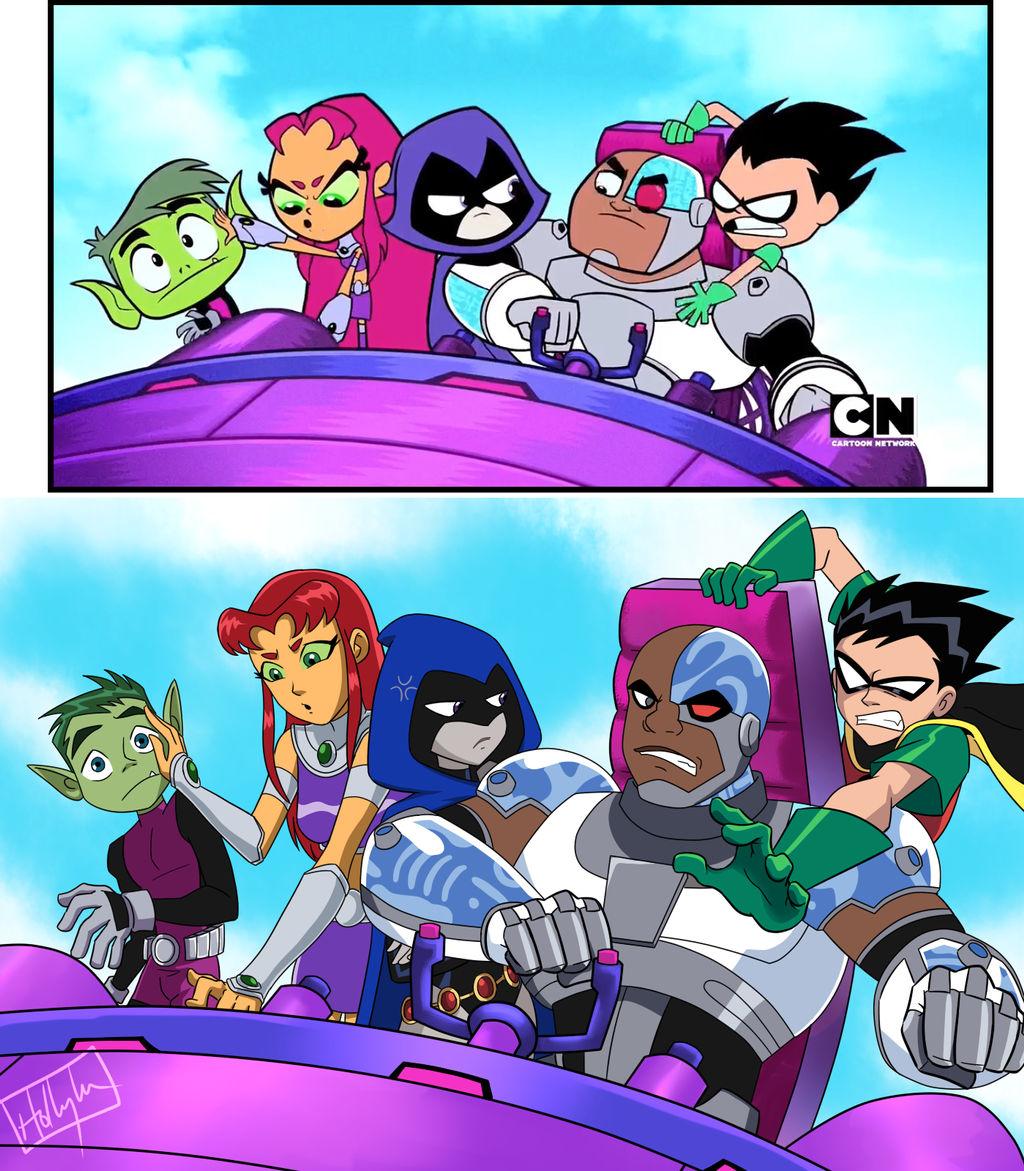Teen Titans by ramhay on DeviantArt