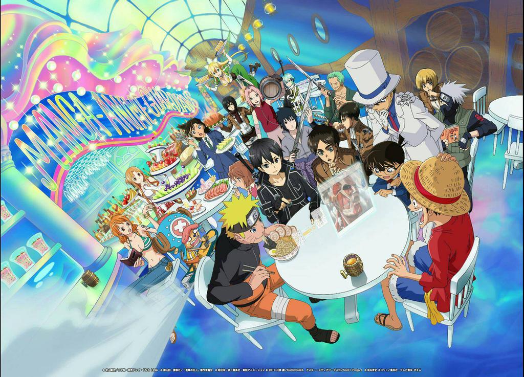 Anime Crossover Wallpaper By Joshdgr