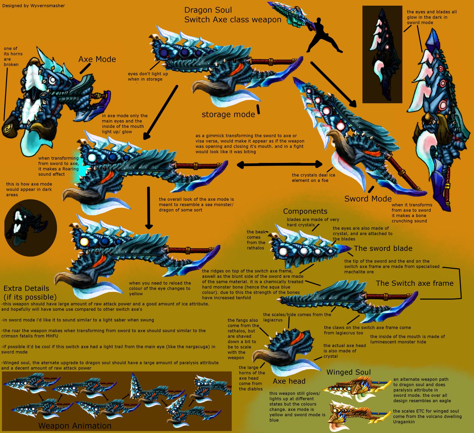 Monster Hunter Weapon Idea