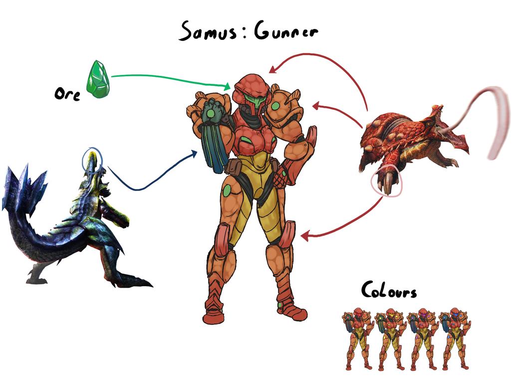 Samus: MH style by wyvernsmasher