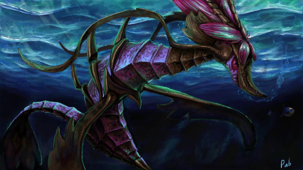 Dragalge- Sea dragon by wyvernsmasher