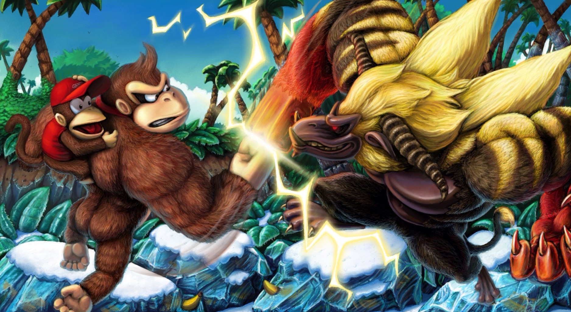 donkey_kong_vs_the_rajang_king_by_wyvern