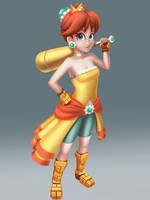 Mushroom Warriors- Daisy by wyvernsmasher