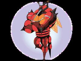 UB-02 Buzzwole by wyvernsmasher