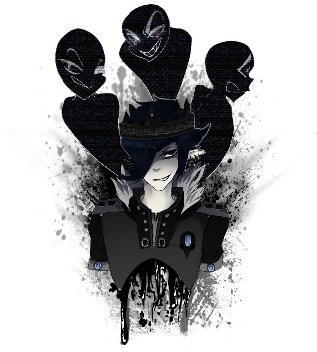 Schizophrenic King by Feonnix