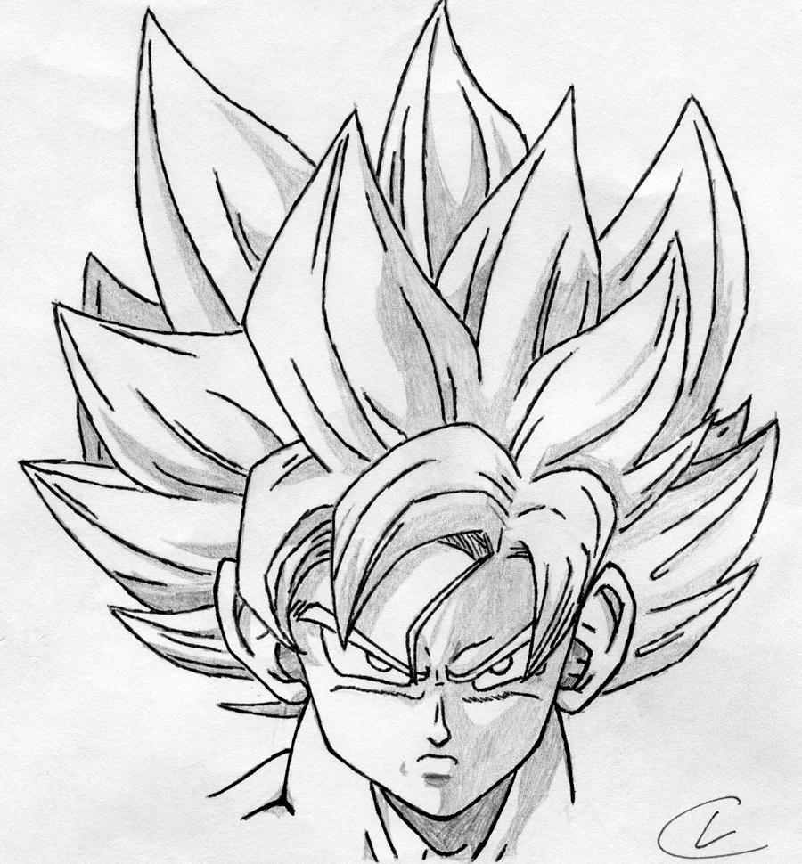 Goku Super Saiyan 5 Drawings Goku Super Saiyan 5 Drawings