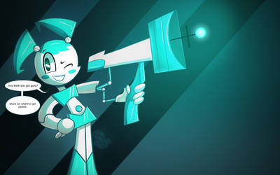 Cute Robo with an arm Cannon