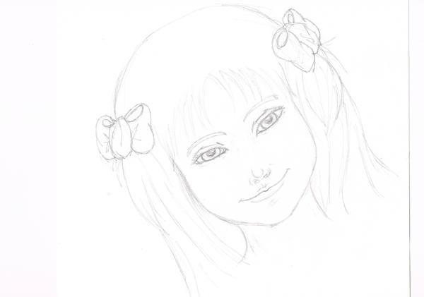 Portrait-Petite-fille by Jahlouse