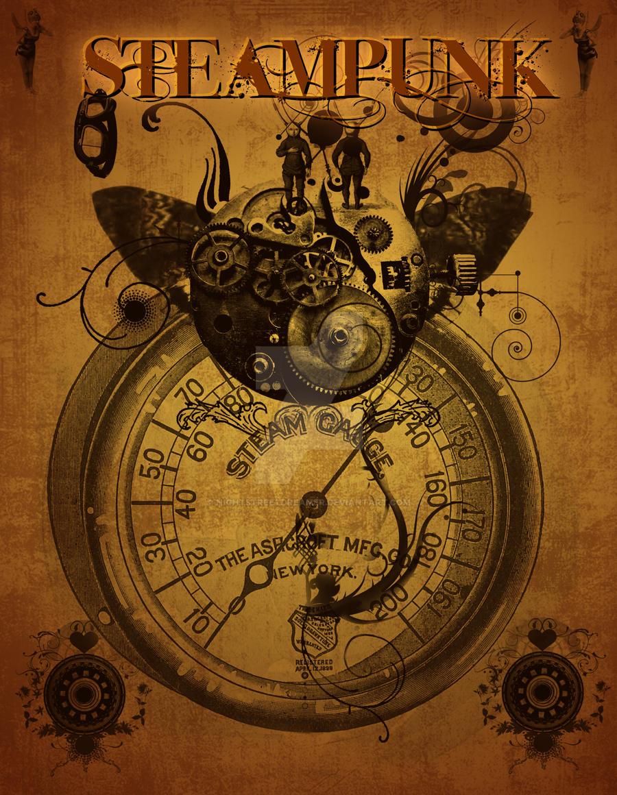Steampunk Poster By Nightstreetdreamer On Deviantart