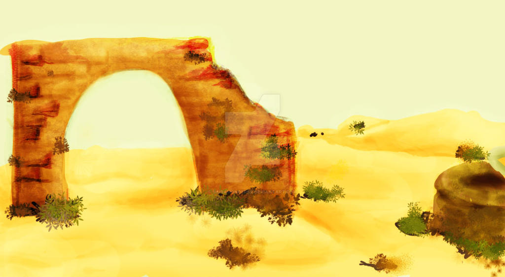 Frontal Desert by shiramonderer