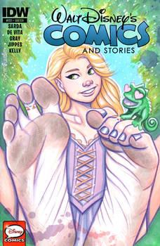 Rapunzel Dirty Barefoot