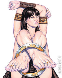 Xena Barefoot