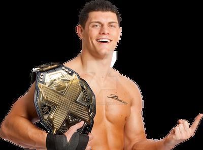 Cody Rhodes NXT Champion by rollinsftorton on DeviantArt