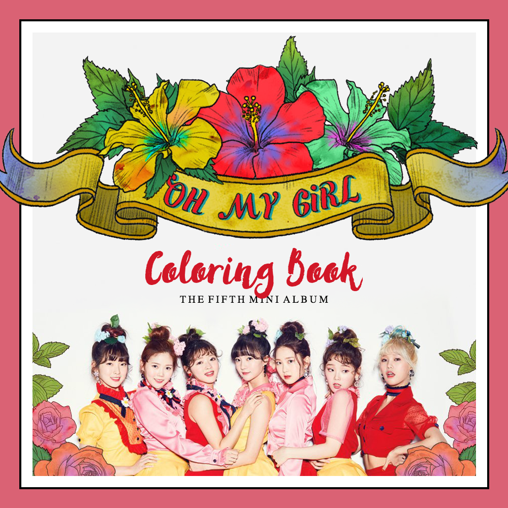 Oh My Girl Coloring Book By Jaeyeons On Deviantart