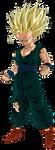 Demon King Piccolo Alt Colors SSJ2 Gohan by Xve319
