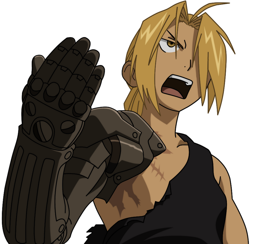 Edward Elric colo by Z...