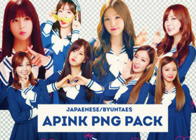 [APINK] Apink png pack by IBPP